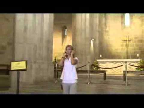 "Vanessa Joy ""Ave Maria"" St. Anne's Church, Jerusalem. With Marvin Goldstein Hello Tours"