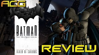 Batman: The Telltale Series Episode 1 :Realm Of Shadows Review