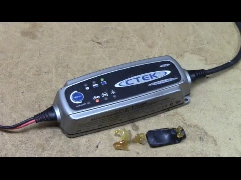 ctek-multi-xs-3600-battery-charger-teardown-&-repair