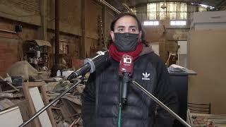 Telediario - Delincuentes se llevaron equipamiento y herramientas de trabajo de una carpintería