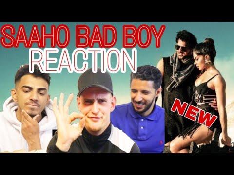 Download Lagu  Saaho: Bad Boy Song REACTION NEW  Prabhas, Jacqueline Fernandez   Badshah, Neeti Mohan Mp3 Free