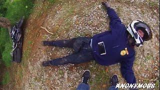 Motorcycle Crash Aftermath