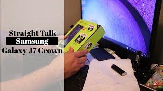 Straight Talk Samsung Galaxy J7 Crown