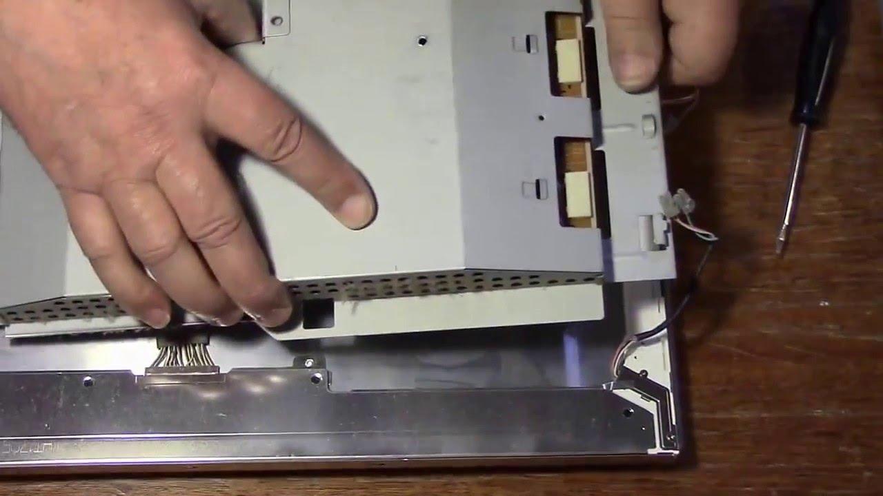 Монитор Samsung 740N типовая неисправность+не очень типовая+ремонт