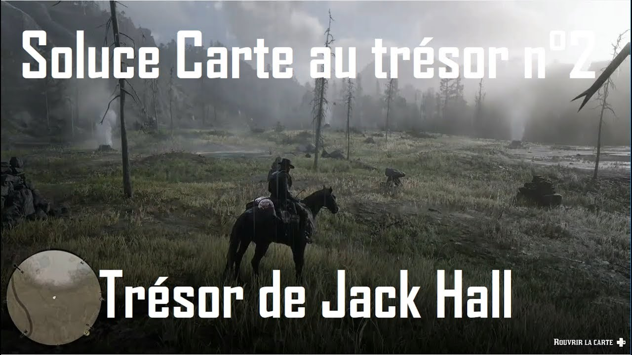 carte de la bande de jack hall 2 Red Dead Redemption 2   Trésor de Jack Hall / carte n°2   YouTube