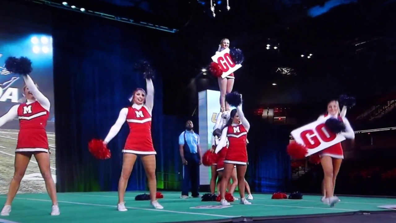 Ole Miss Cheerleading 2018 Uca Nationals Game Day Competition Champions 1 12 18 Youtube