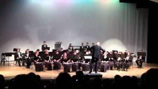 Satiric Dances written by Dello Joio - CCHS Sound of Pride Wind Ensemble 2011 pre-fba concert
