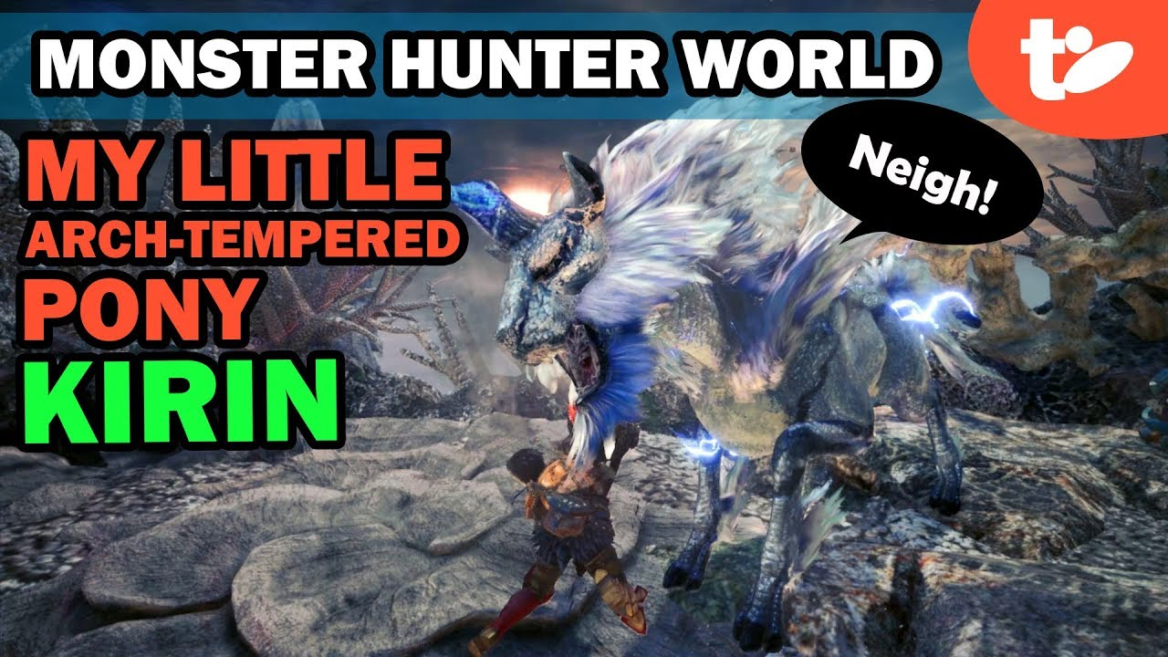 I Survived Monster In Lower Stacks Of >> How To Beat Arch Tempered Kirin In Monster Hunter World Technobubble