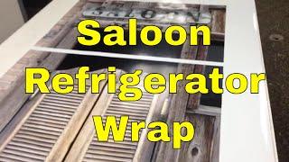 Saloon Refrigerator Wraps Rm Wraps.com