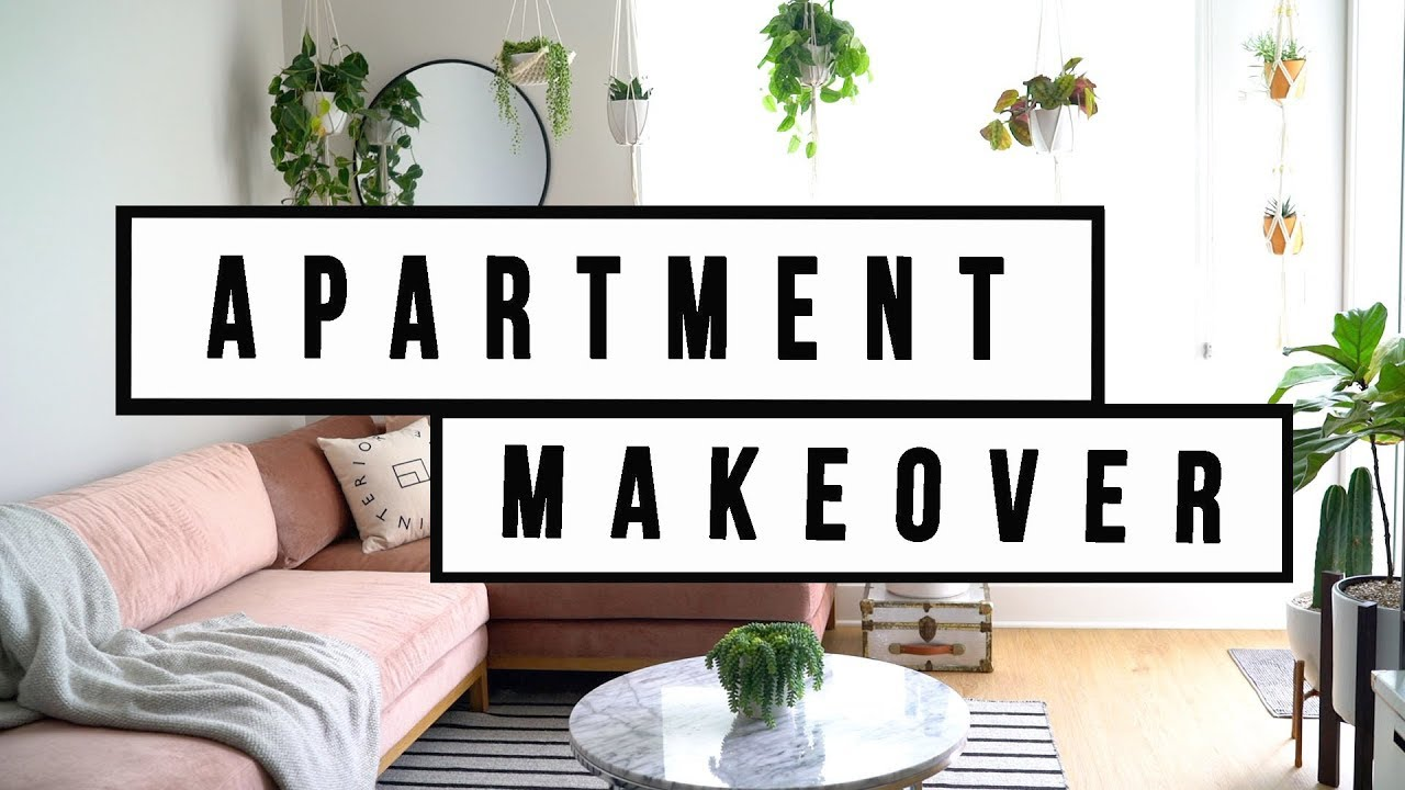 APARTMENT MAKEOVER - LIVING ROOM DECOR | ANN LE - YouTube