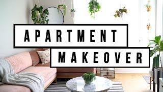 APARTMENT MAKEOVER - LIVING ROOM DECOR | ANN LE