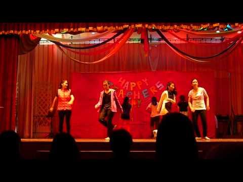 Teachers' day dance performance (mash up)