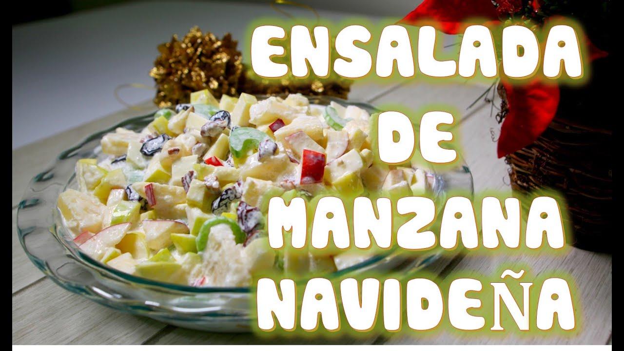 Receta Atun Ensalada De Manzana Con De