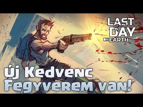 Új Kedvenc Fegyverem Van!   Last Day On Earth Magyarul