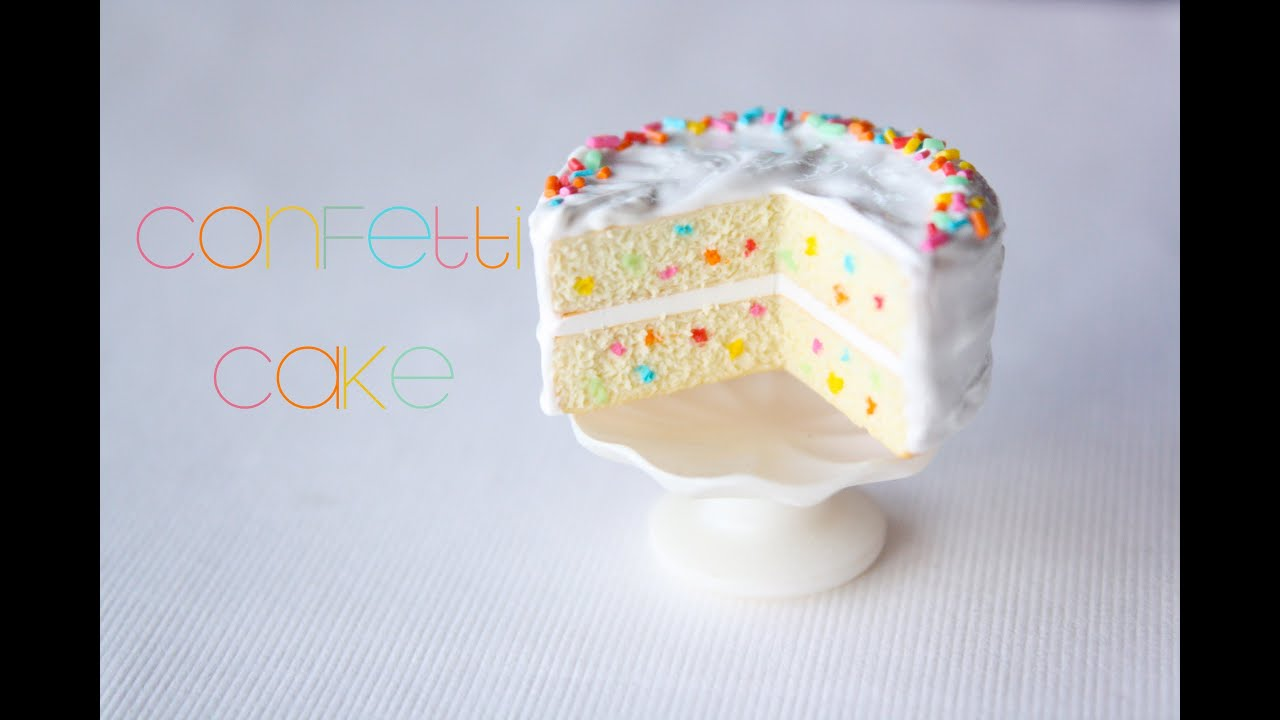 Harry Potter Bathroom Accessories Confetti Cake How To Make A Miniature Dollhouse Cake