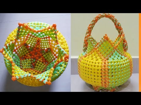 Tamil - pooja basket making full tutorial