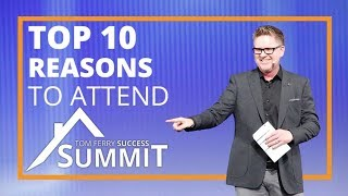 Top 10 Reasons to Attend Tom Ferry