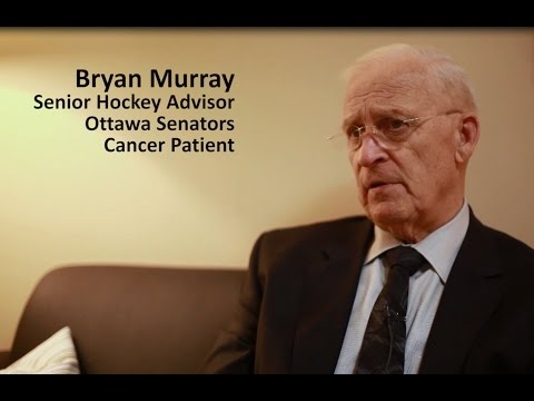 Ottawa Senators Bryan Murray Speaks of Changing How We Live With Cancer