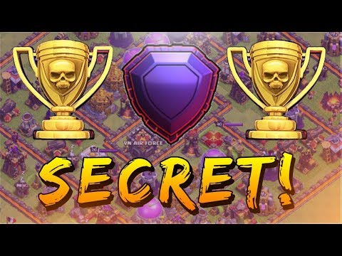 SECRET - TH11 NEW DEFENSE BASE LEGEND LEAGUE 2017 WITH REPLAYS | Clash Of Clan