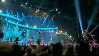 PREMIOS JUVENTUD 2012 - Dyland y Lenny con Juan Magan'Pégate más(HD)