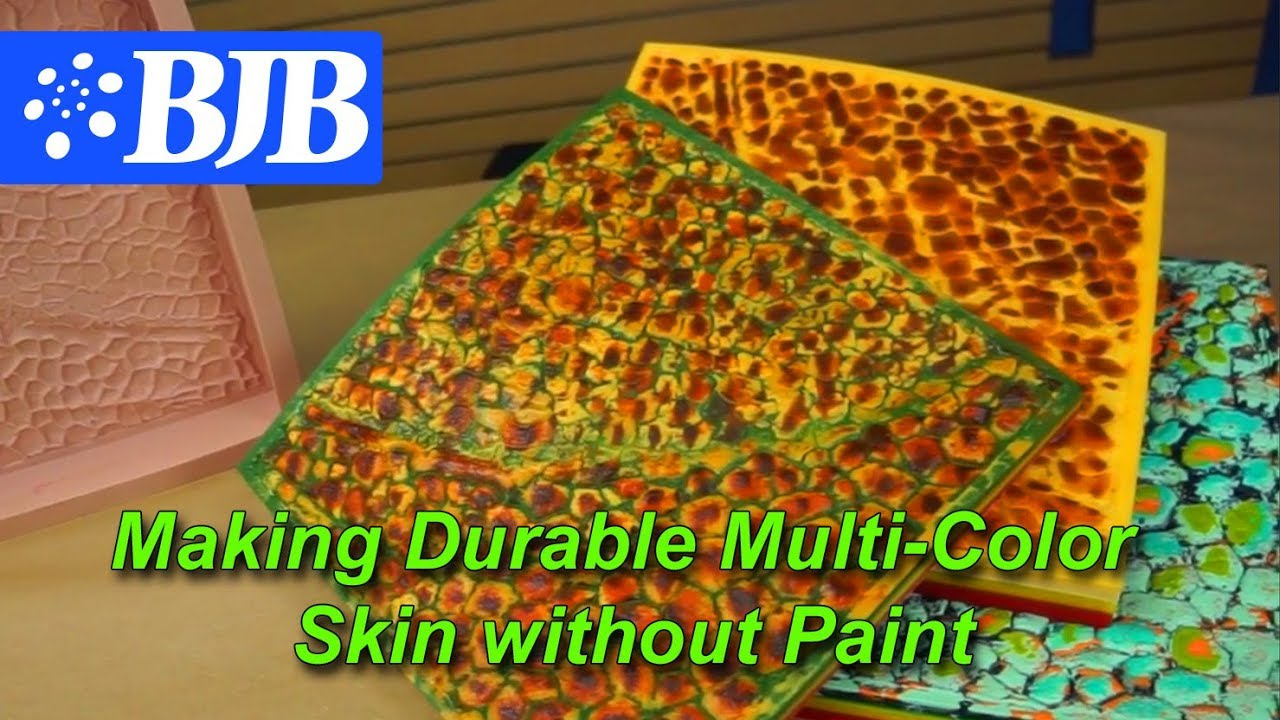 Reptile Skinflex Pad Making A Durable Multi Color Skin Without Paint