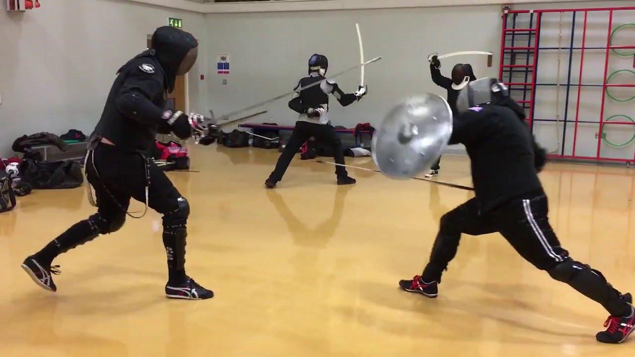 Rapier and Shield vs Rapier and Dagger Tom vs Nick