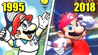 Evolution of Mario Tennis Games (1995 - 2018)
