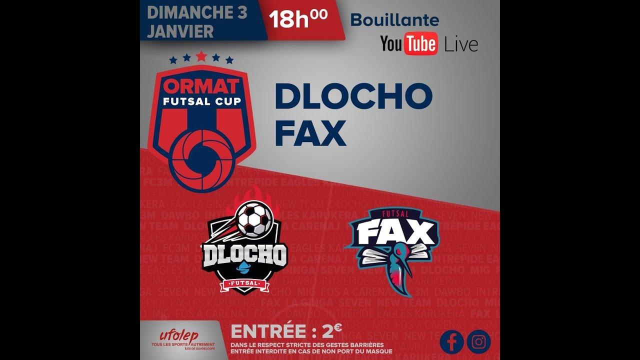 Ormat Futsal Cup by Ufolep Guadeloupe Finale DLOCHO vs FAX . 3 Janvier 2021
