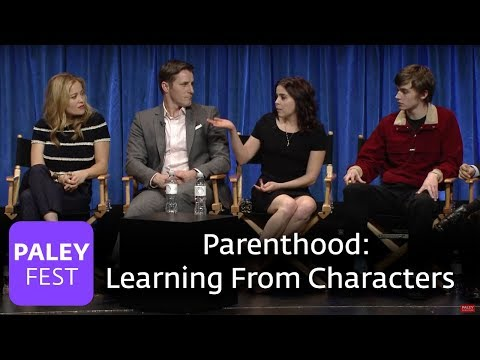 Parenthood - Mae Whitman, Peter Krause, and Dax Shepard Learn From Their Characters