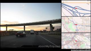 Moreno Valley (Moreno Valley, CA, Riverside County) to Lemon Street (Riverside, CA)