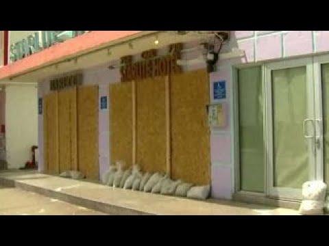 Miami Beach deserted ahead of Irma's landfall