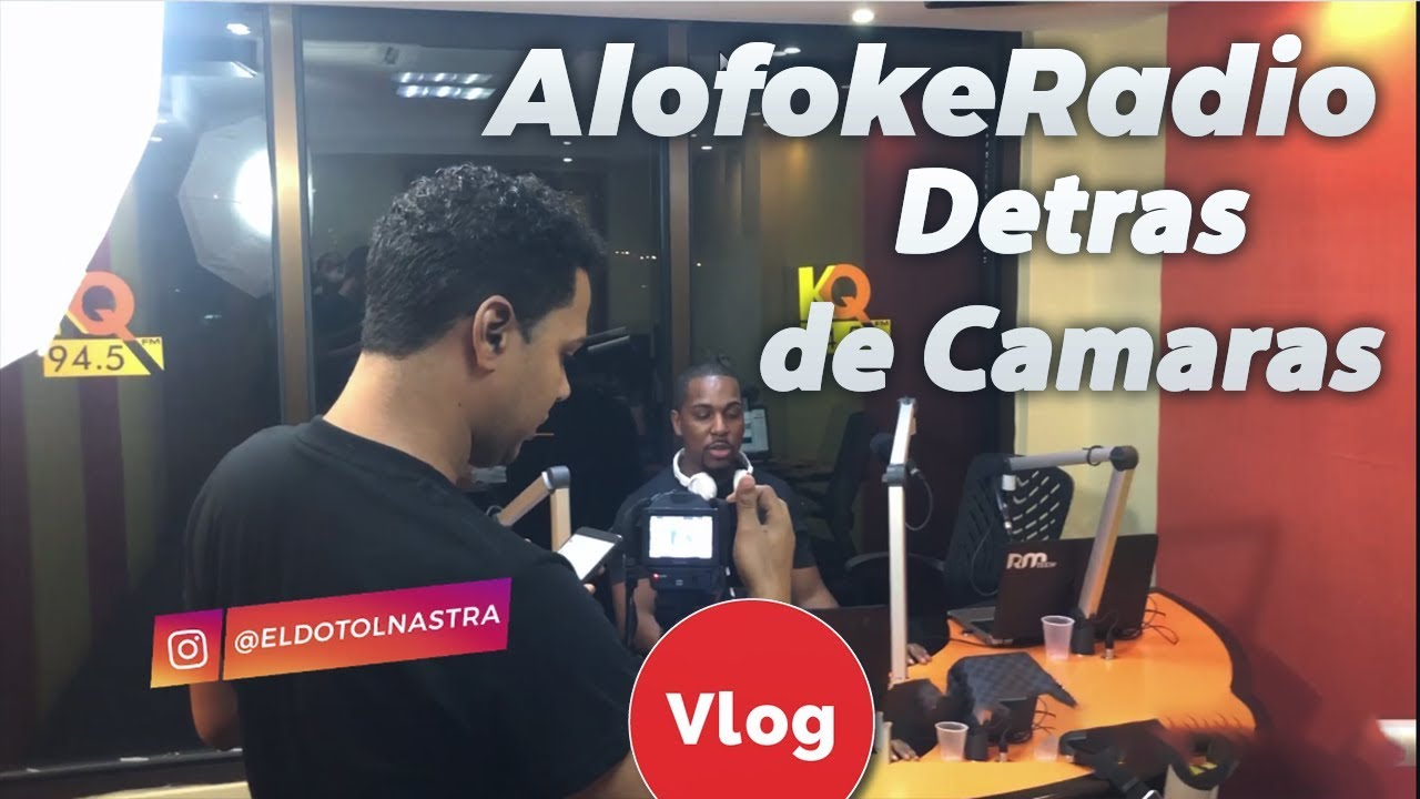 Alofoke Radio Detras de Camaras! - Dotol Nastra