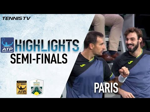 Doubles Highlights: Dodig/Granollers Save MP To Reach Paris 2017 Final