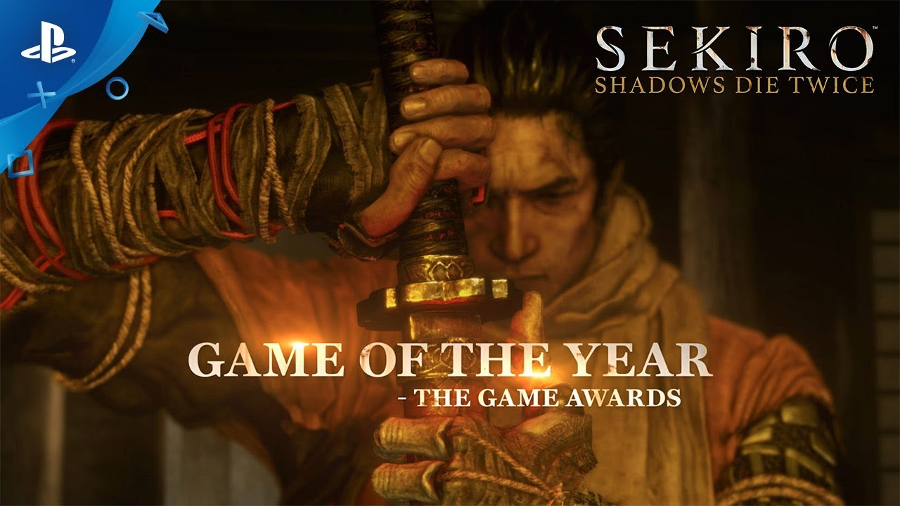 Sekiro: Shadows Die Twice - Game of the Year Trailer | PS4