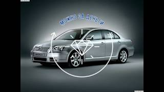 Снятие клапана ЕГР ( EGR ) TOYOTA AVENSIS Disel D4D/ Клапан ЕГР EGR Тойота Авенсис Дизель D-4D Д4Д