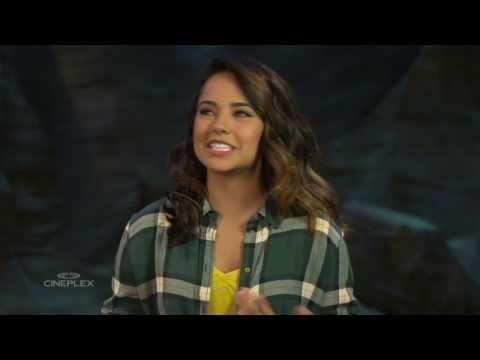 On-set interview: Becky G. talks Power Rangers
