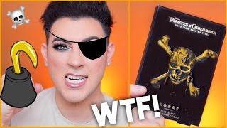 PIRATE MAKEUP... WTF! DOES IT WORK? | Manny MUA