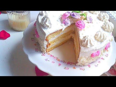 ❤gÂteau-d'anniversaire-girly-avec-crÈme-au-chocolat-blanc❤