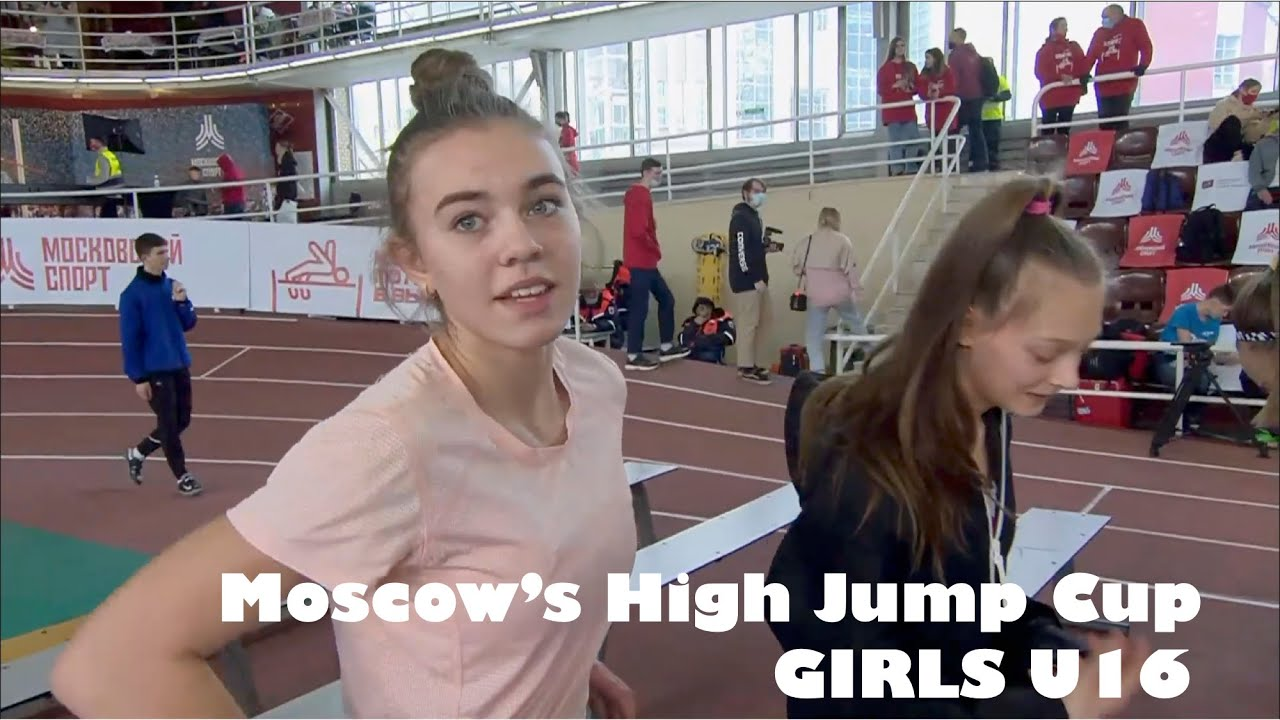 Download Moscow's Indoor High Jump Cup. Girls U16. 2021