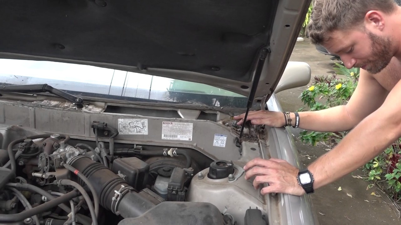 Toyota Solara 2017 >> How to Fix 1998 Toyota Avalon WindShield Wiper _057 BONUS