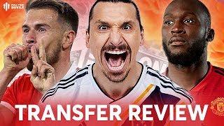 RAMSEY, LUKAKU, ZLATAN?!?! Manchester United Transfer News Review
