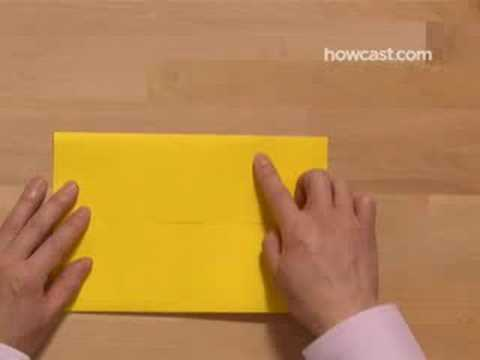 Papercraft How to Make an Origami Box