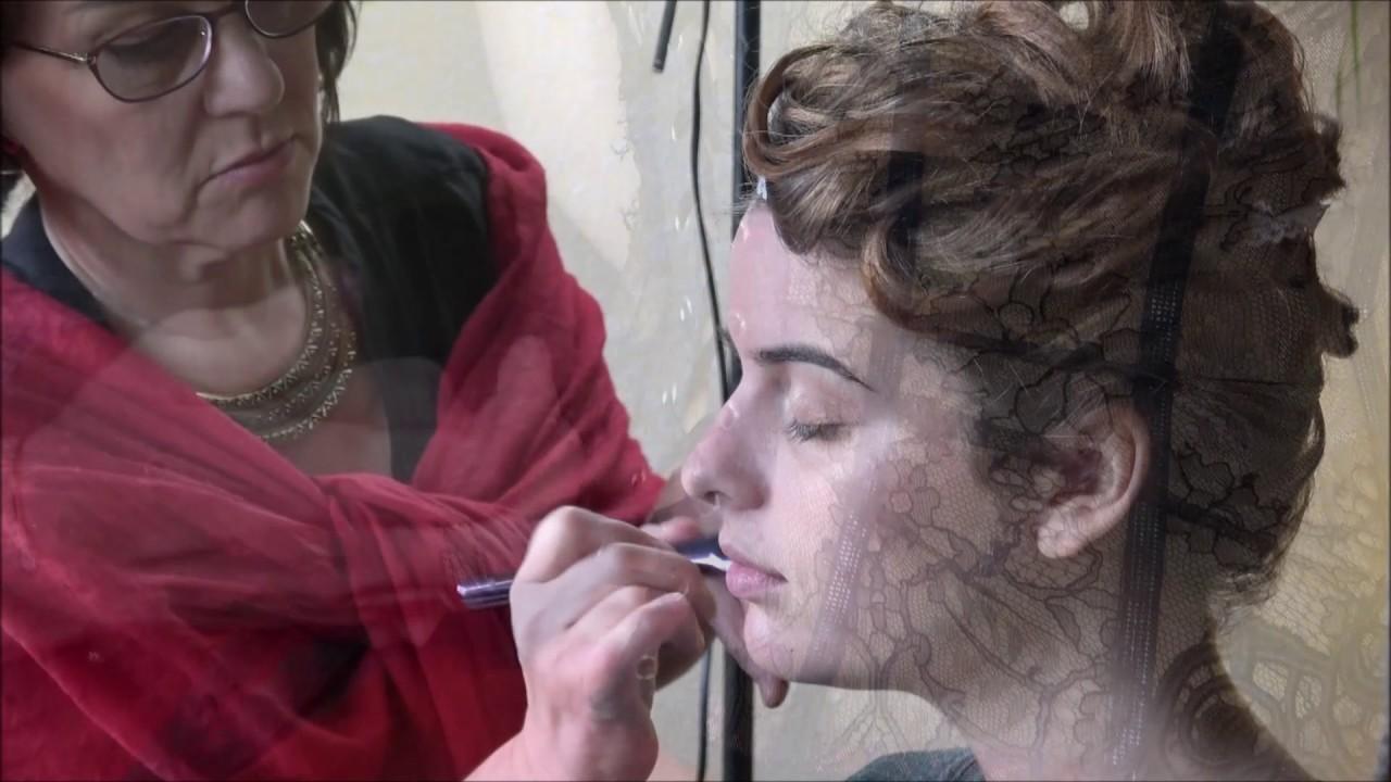 Backstage coiffure maquillage mariée 2017/2018