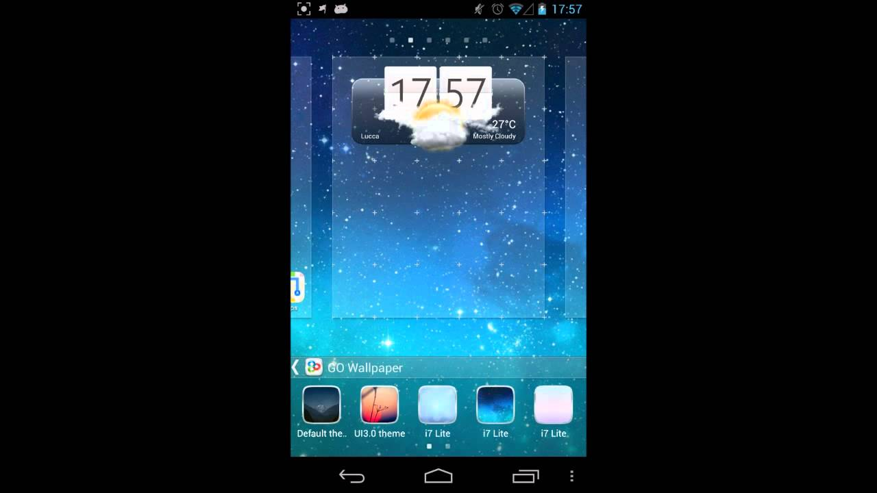 i7 PRO Go Launcher Theme by Pizero - iOS inspired theme for Android