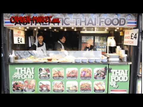 (HD) Tour around Camden Market & Lock Markets, London