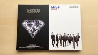 Gambar cover ♡Unboxing EXO 엑소 5th Album Repackage Love Shot 러브 샷 (Love & Shot Ver.)♡