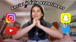 48 HOURS WITHOUT SOCIAL MEDIA