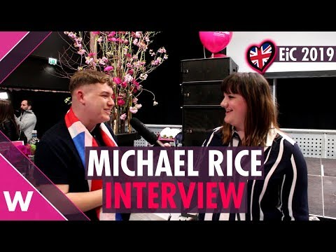 "Michael Rice ""Bigger Than Us"" (United Kingdom) INTERVIEW @ Eurovision in Concert 2019"