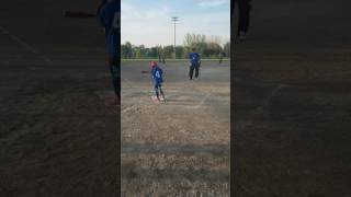 6 year old with right hemiplegia cerebral palsy getting her first hit!