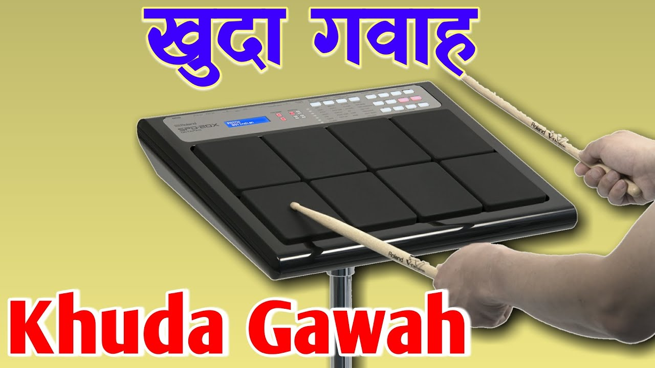 Khuda Gawah | Octapad New Patch Editing SPD 20 & SPD 20X | Tu Mujhe Kabool | खुदा गवाह | तू मुझे